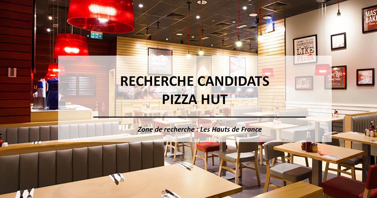 À la recherche de nouveaux talents pour Pizza Hut…
