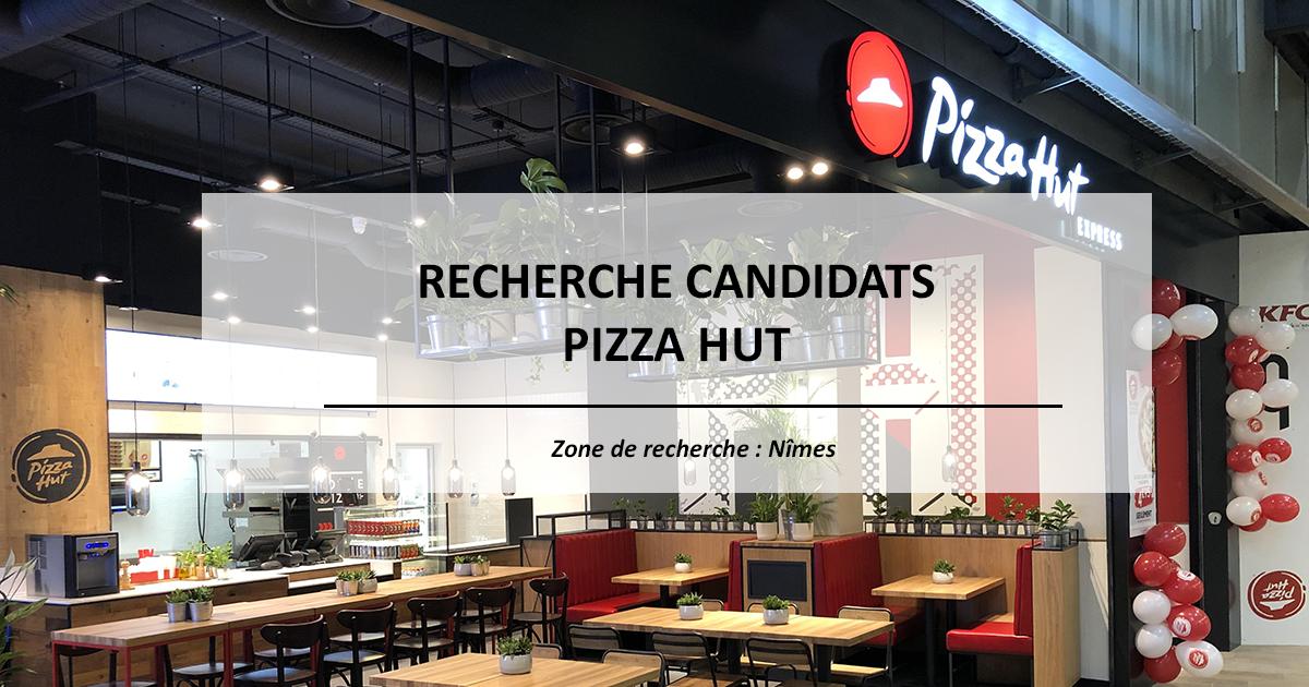 Futurs franchisés, ouvrez votre restaurant Pizza Hut à Nîmes (30) !