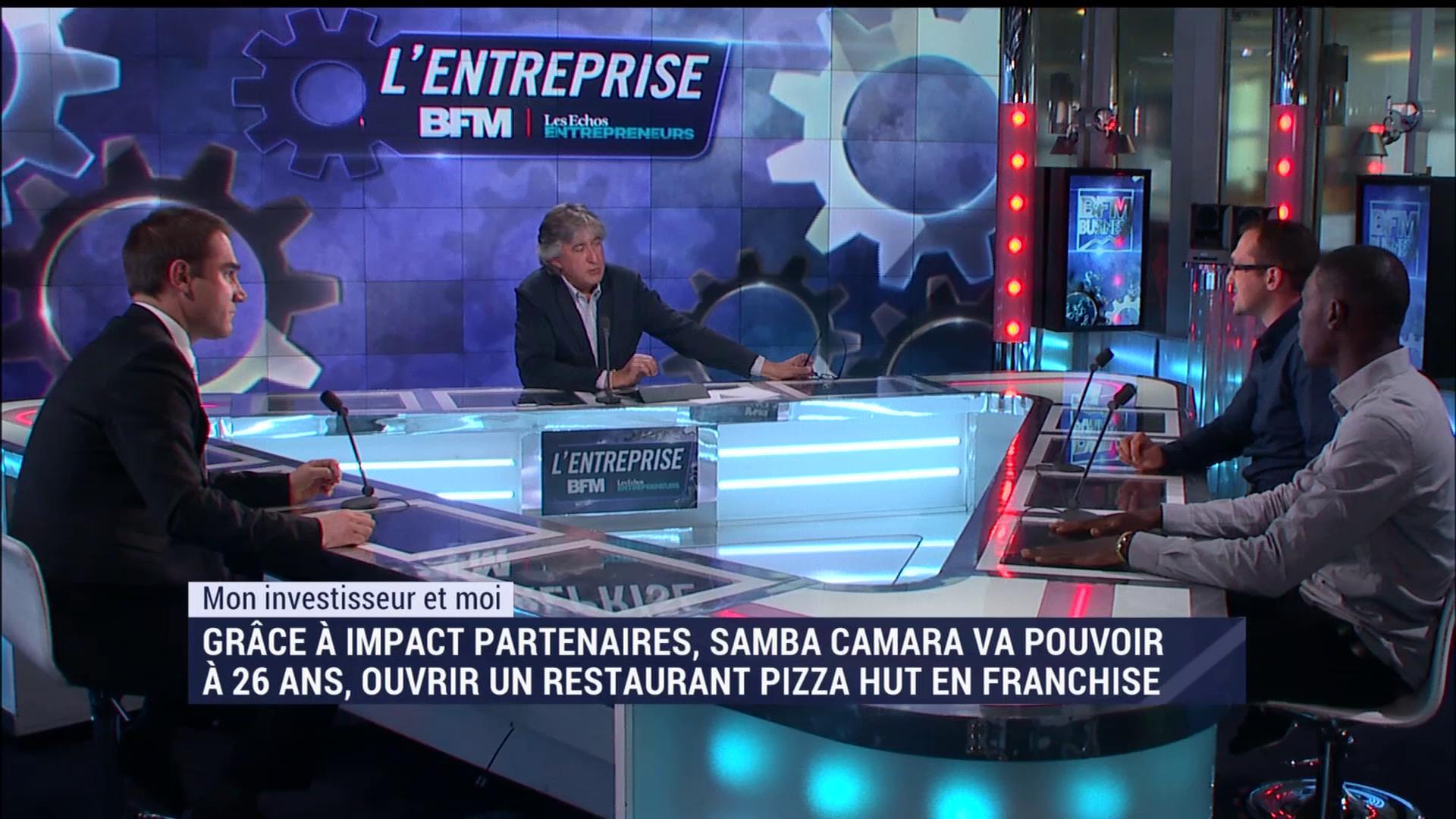 Entretien TV - deux futurs franchisés accompagnés par Monte Ta Franchise