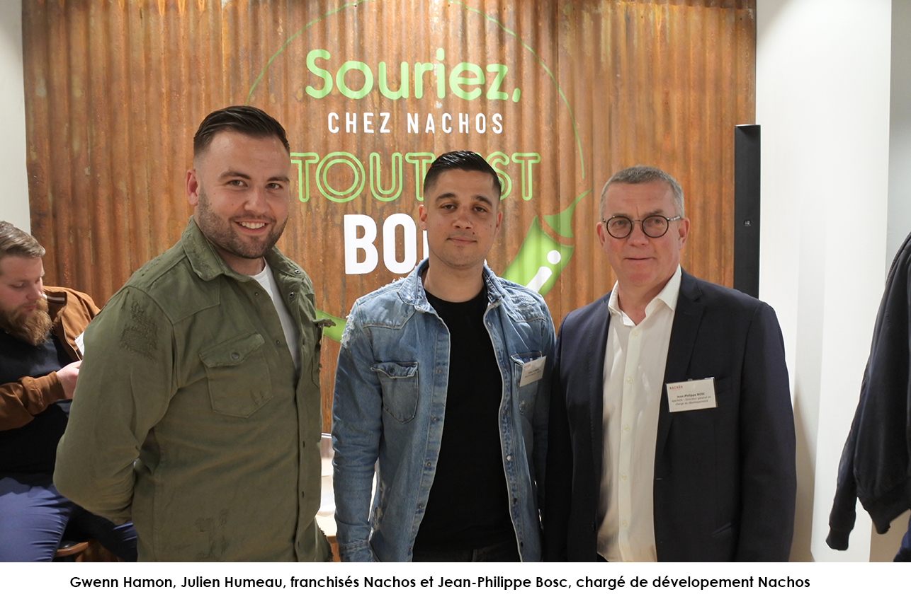 Gwenn et Julien inaugurent leur restaurant Nachos à Angers